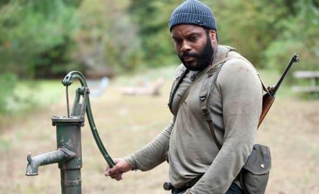 Tyreese on The Walking Dead