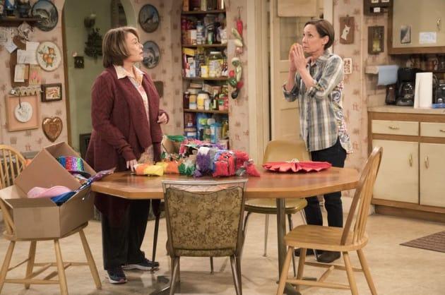 Jackie Praying - Roseanne Season 10 Episode 5