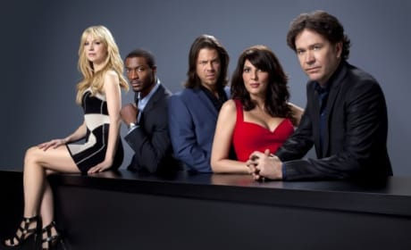 The Leverage Cast