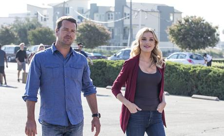 Callen and Kolcheck - NCIS: Los Angeles
