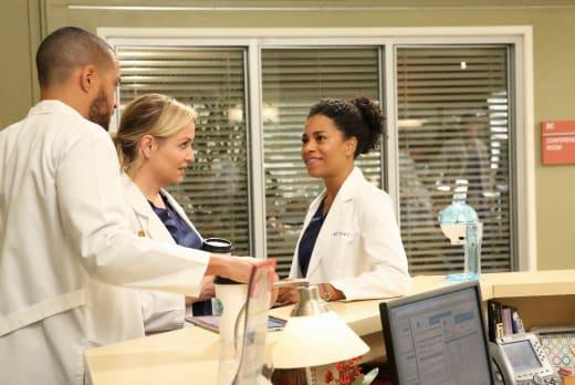 Plotting - Grey's Anatomy Season 13 Episode 12