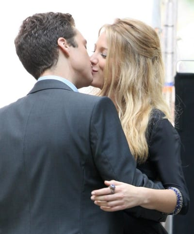 Blake Lively and Sebastian Stan