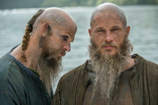 Ragnar and Floki - Vikings Season 2 Episode 11
