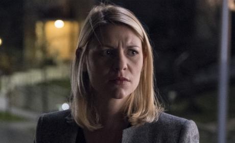 Carrie Looks Worried - Homeland