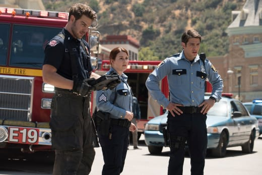 Assessing the Situation - Station 19 Season 2 Episode 2