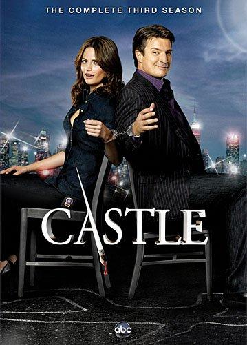 Castle Season 3 DVD Cover