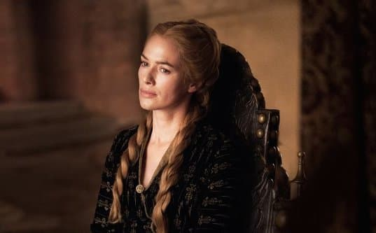 Pained Cersei