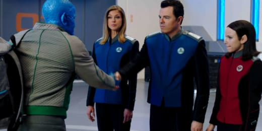 Shaking Hands with the Enemy - The Orville Season 1 Episode 9