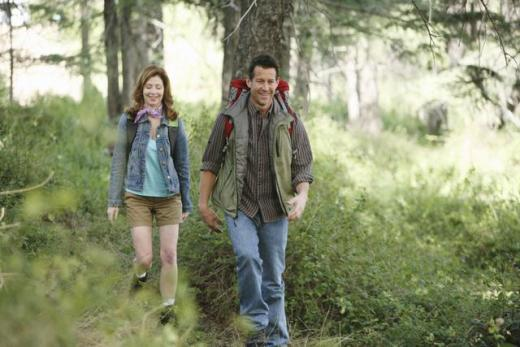Mike and Katherine Go Hiking