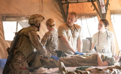 Grey's Anatomy Photo Preview: What Happened in Iraq?!