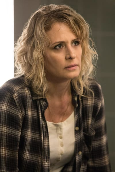 Mary doesn't look angry - Supernatural Season 12 Episode 21