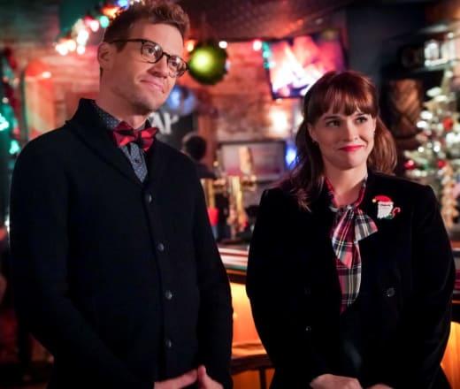 Festive Couple - NCIS: Los Angeles Season 10 Episode 11