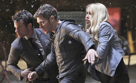 Claire Holt and Company - The Originals Season 2 Episode 22