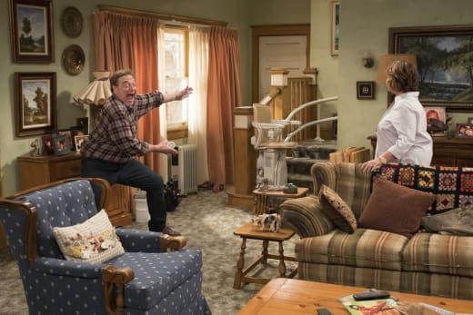 Dan's Surprise - Roseanne Season 10 Episode 3