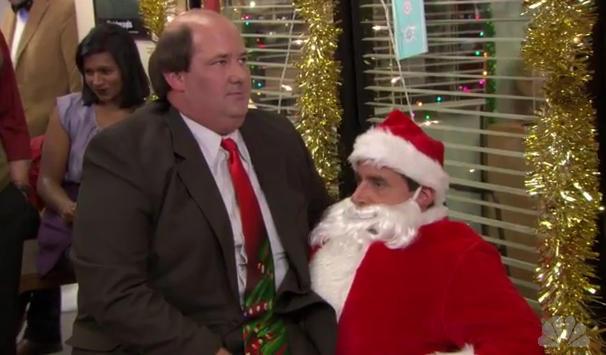 Kevin and Santa