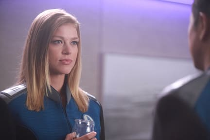 Grayson Has a Drink - The Orville Season 1 Episode 2