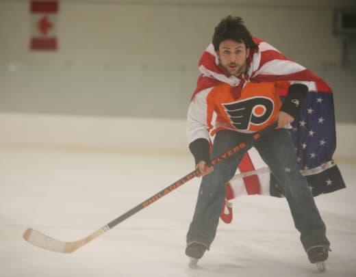 Charlie Plays Hockey