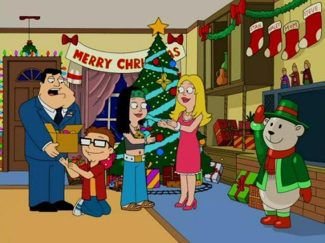 The best christmas story never american dad
