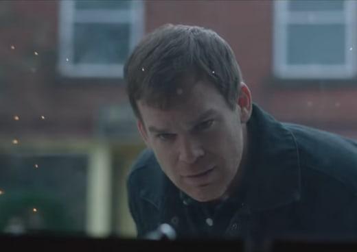 Dexter Stares at Knives