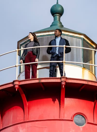 Little Red Lighthouse - God Friended Me Season 1 Episode 13