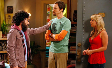 Hairy Leonard and Sheldon