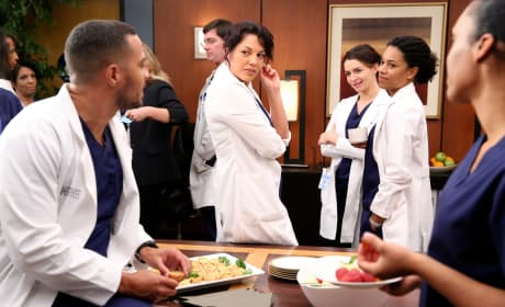 Just Chatting - Grey's Anatomy Season 12 Episode 2