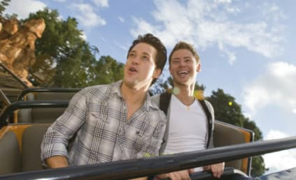 T.R. Knight, Mark Cornelsen Go to Disneyland