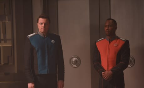 Mercer and LaMarr - The Orville Season 1 Episode 3