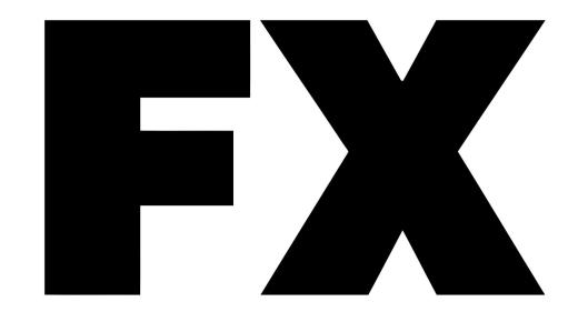 Logo for FX