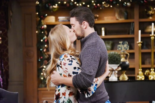 Abby and Chad at Christmas - Days of Our Lives