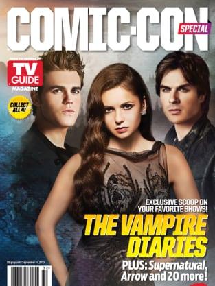 Vampire Diaries Comic-Con Cover