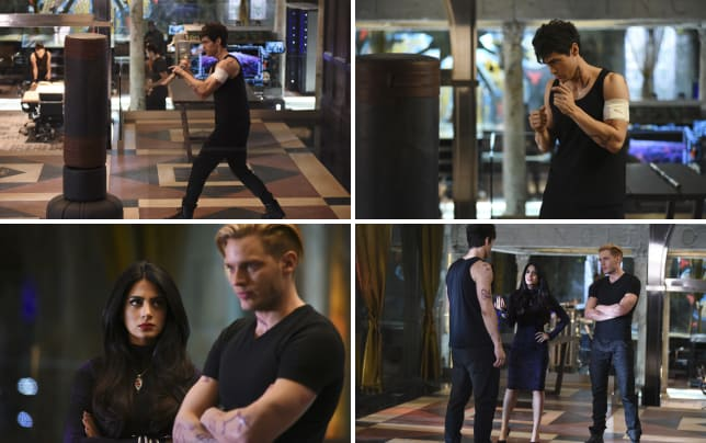Muscle man shadowhunters season 1 episode 9