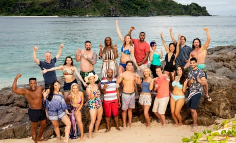Survivor Season 37 Group Shot