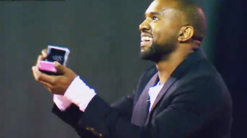 Kanye on One Knee