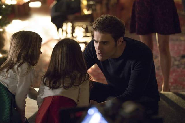 Stepdad Stefan - The Vampire Diaries Season 8 Episode 7
