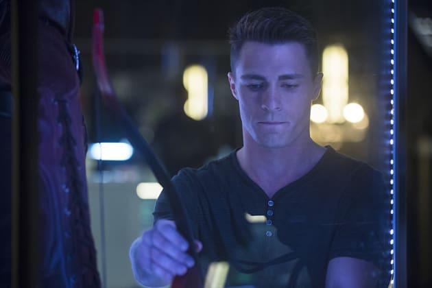 Thinking of Thea - Arrow Season 3 Episode 3