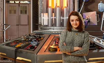 Maisie Williams to Give Doctor Who Hell: See the Star on Set!