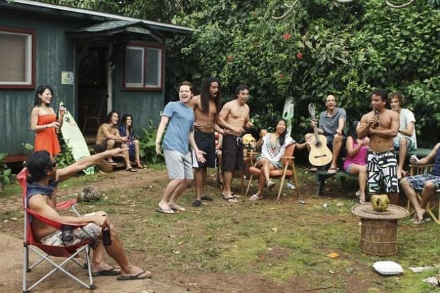 Cougar Town in Hawaii