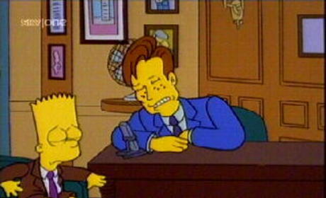 Conan O'Brien on The Simpsons