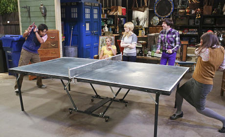 Ping Pong Battle - The Big Bang Theory