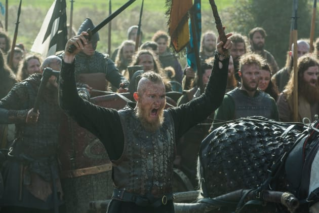 Bjorn Leads the Army - Vikings Season 4 Episode 19
