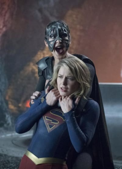 Kara's Struggle - Supergirl