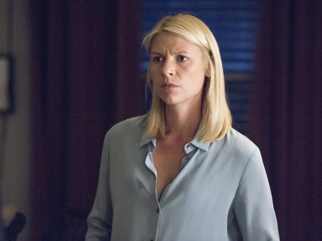 Carrie Back at Home - Homeland