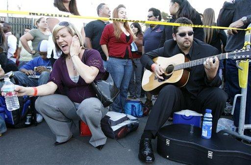 American Idols Hopefuls... Many, Many of Them