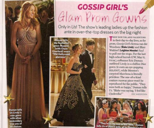 Gossip Girl Prom Pics