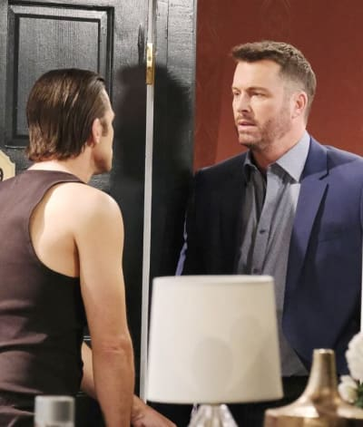 Locking Horns Over Chloe / Tall - Days of Our Lives