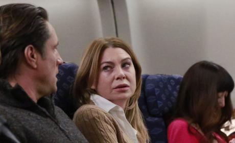 Stuck On a Plane - Grey's Anatomy