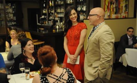 Emmy Rossum on Top Chef