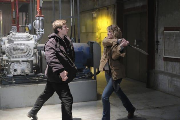 Mary swings away - Supernatural Season 12 Episode 14