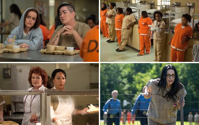 Lunchtime orange is the new black